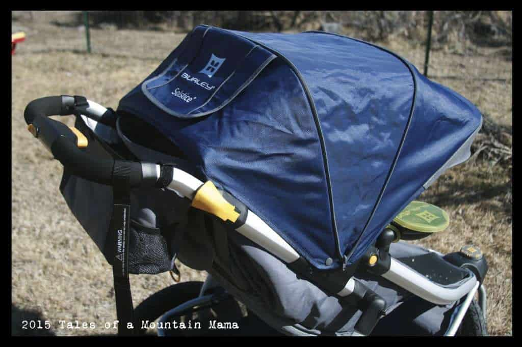 Burley Solstice Stroller Review