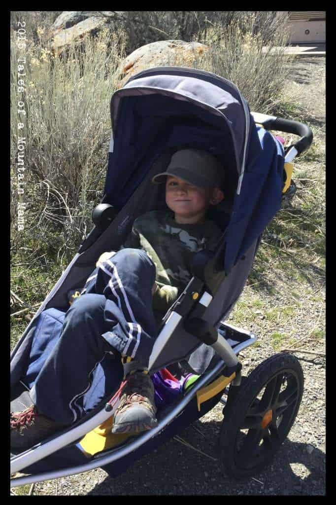 Burley Solstice Stroller Review - Tales of a Mountain Mama