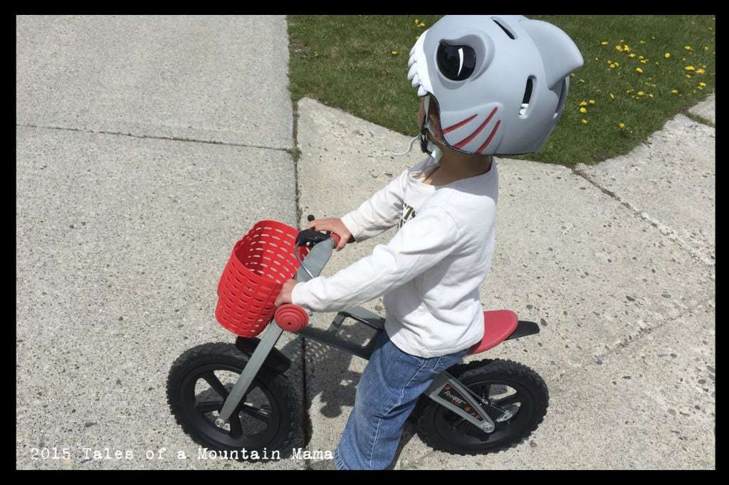 FirstBike Balance Bike Review + Giveaway