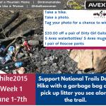 Hike 2015 – Week 1 Challenge