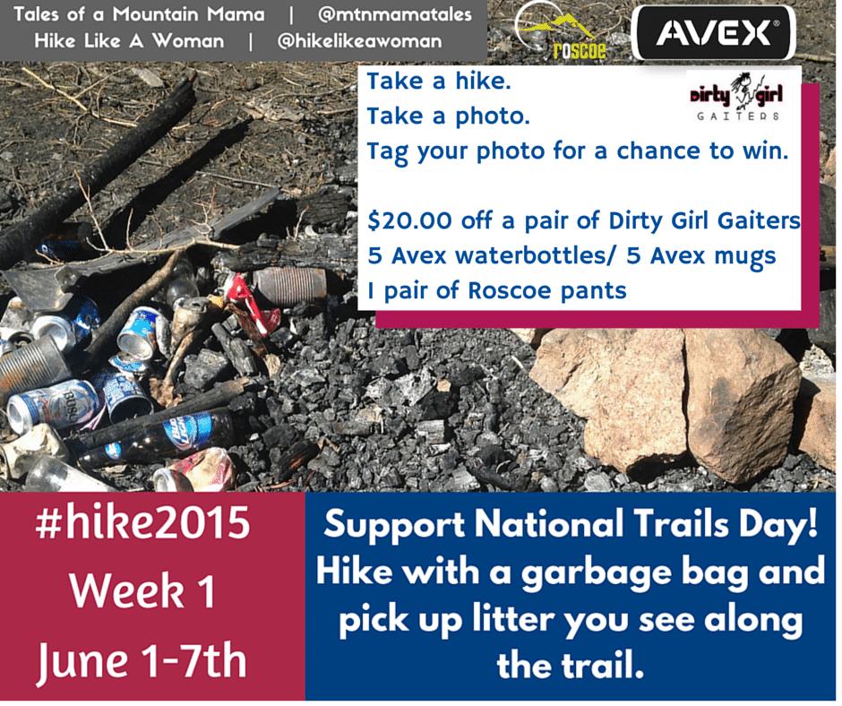 Hike 2015 - Week 1 Challenge