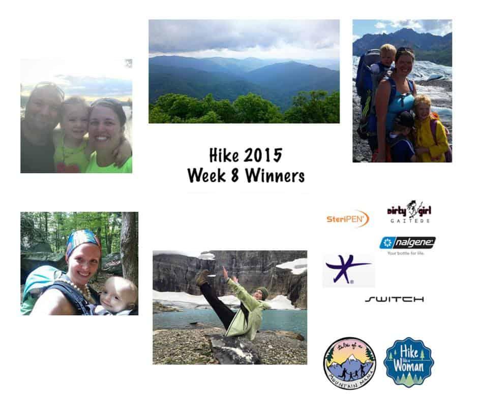 Hike 2015 Week 9 + Week 8 Winners