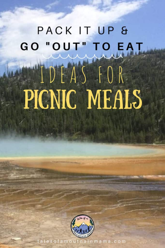 pack it up and go out to eat: Ideas for picnic meals