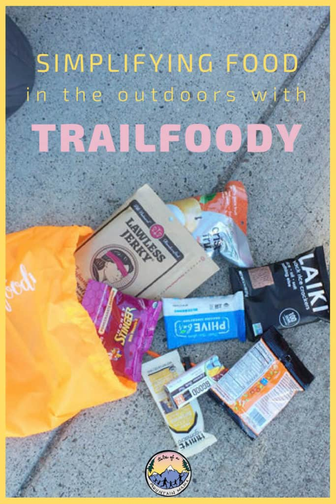 simplifying food in the outdoors with trailfoody