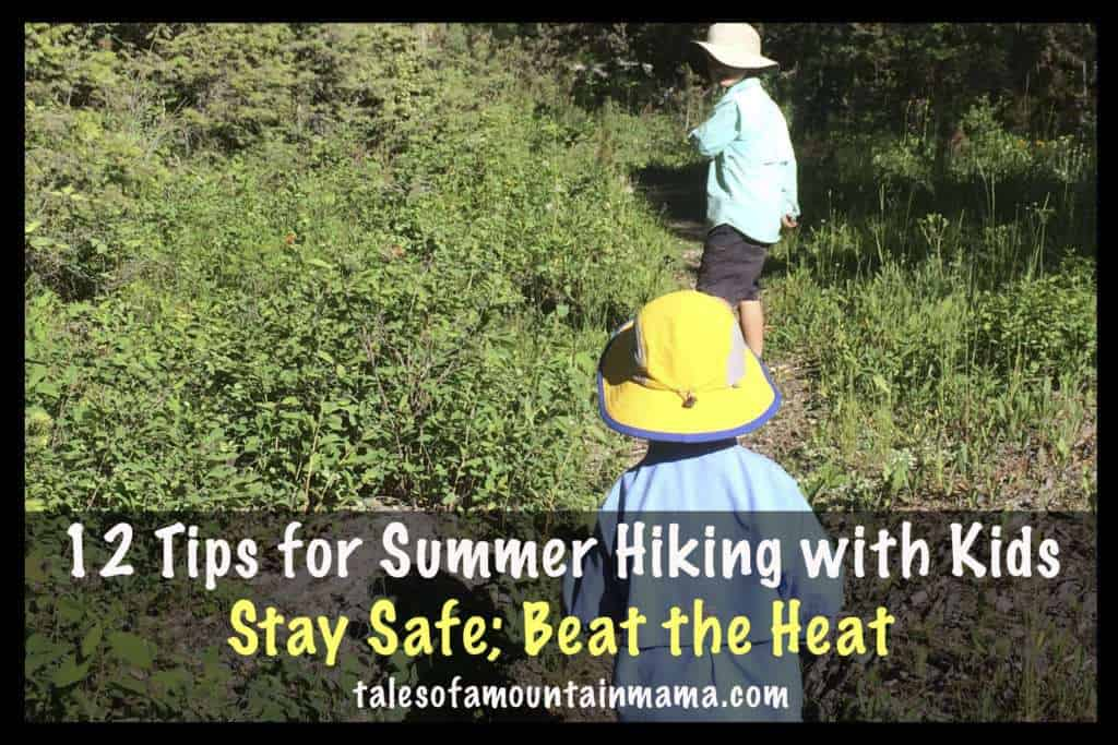 12 Tips for Safe Summer Hiking with Kids