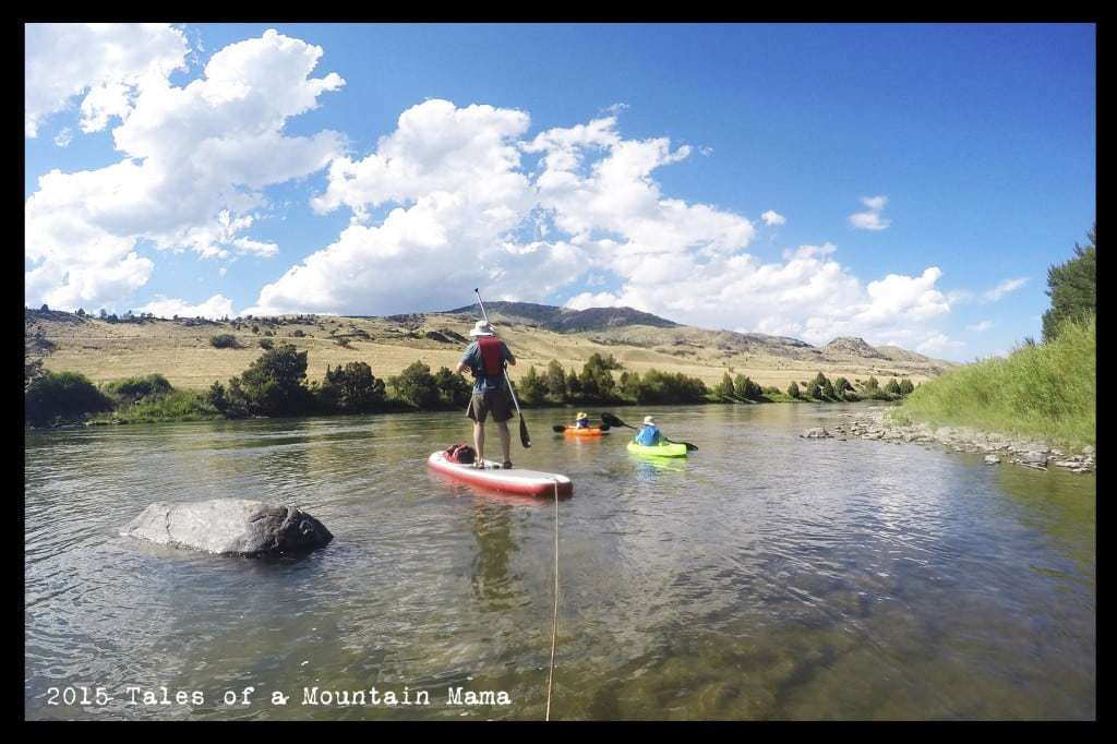 Floating the Yellowstone