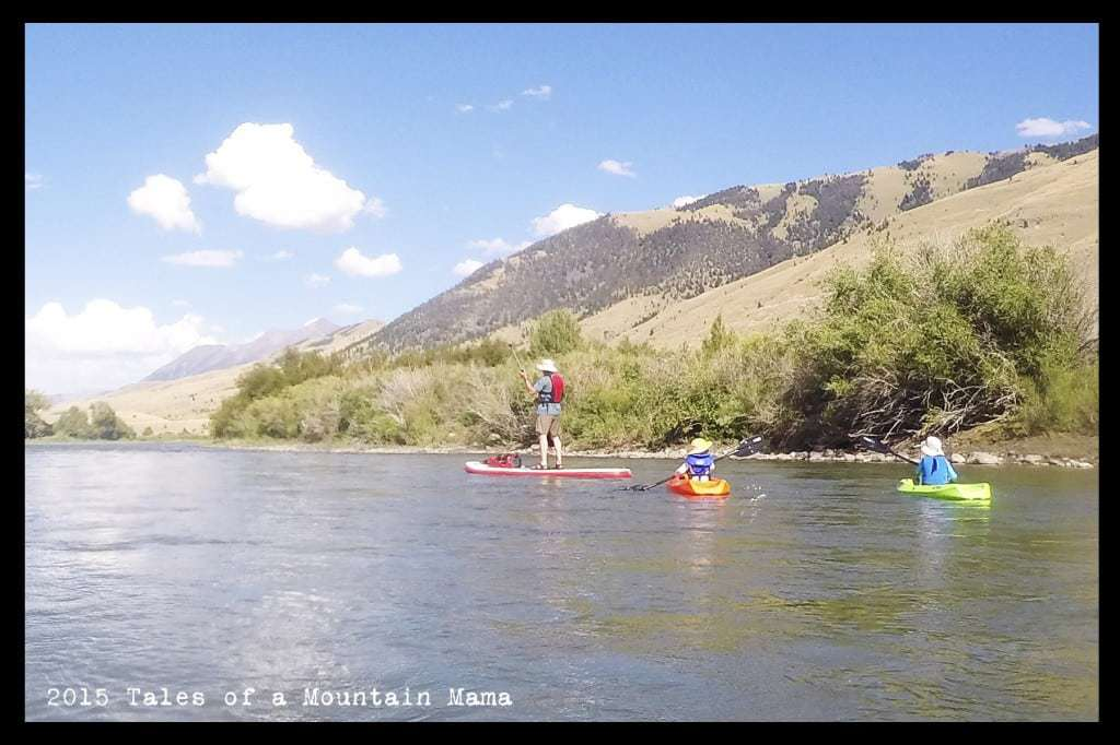 Floating the Yellowstone with Kids