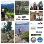 Hike 2015 Week 9 Winners & Thank you!