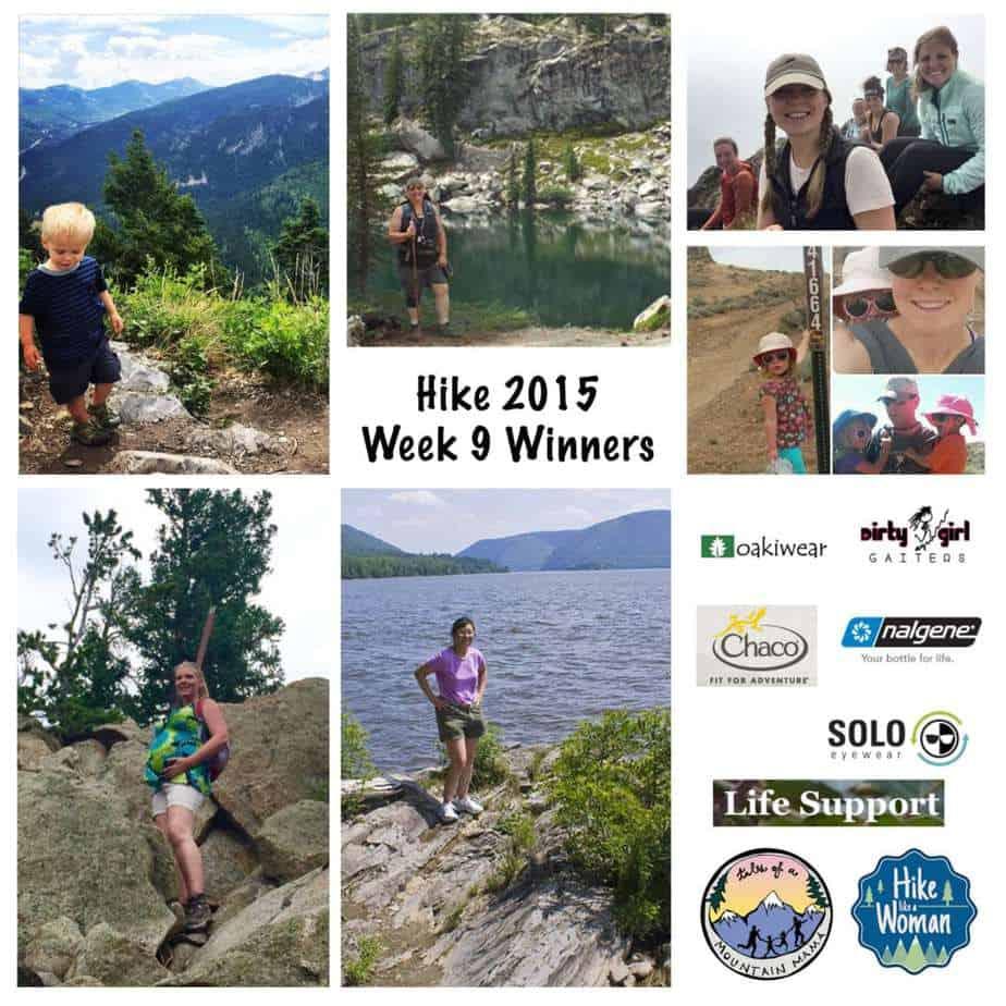 Hike 2015 Week 9 Winners & Thank you!