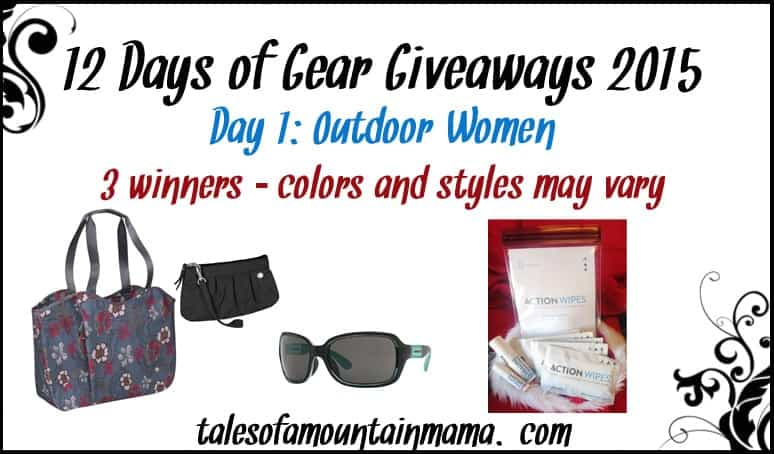 12 Days of Gear Giveaways - Day 1 (Outdoor Women)