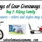 12 Days of Gear Giveaways – Day 2 (Biking Family)