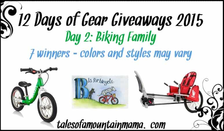 12 Days of Gear Giveaways - Day 2 (Biking Family)