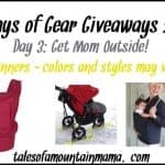 12 Days of Gear Giveaways – Day 3 (Get Mom Outside!)