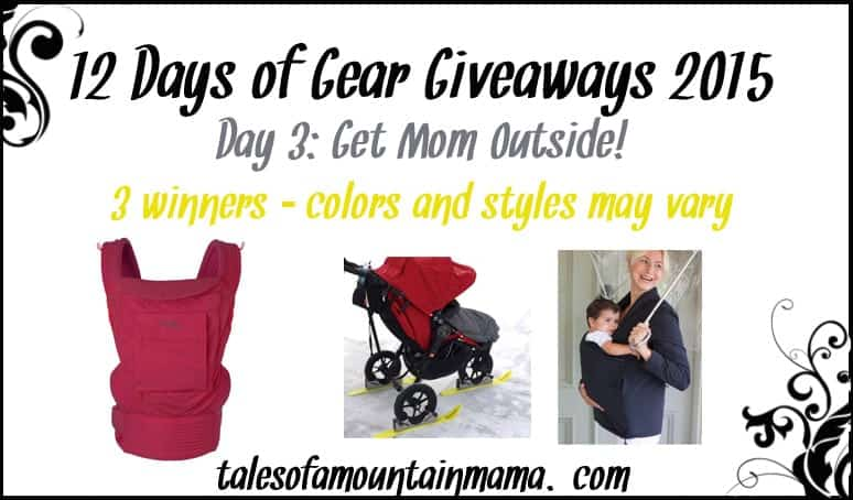 12 Days of Gear Giveaways - Day 3 (Get Mom Outside!)