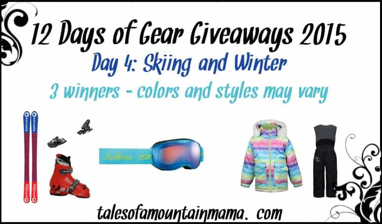 12 Days of Gear Giveaways - Day 4 (Skiing & Winter)