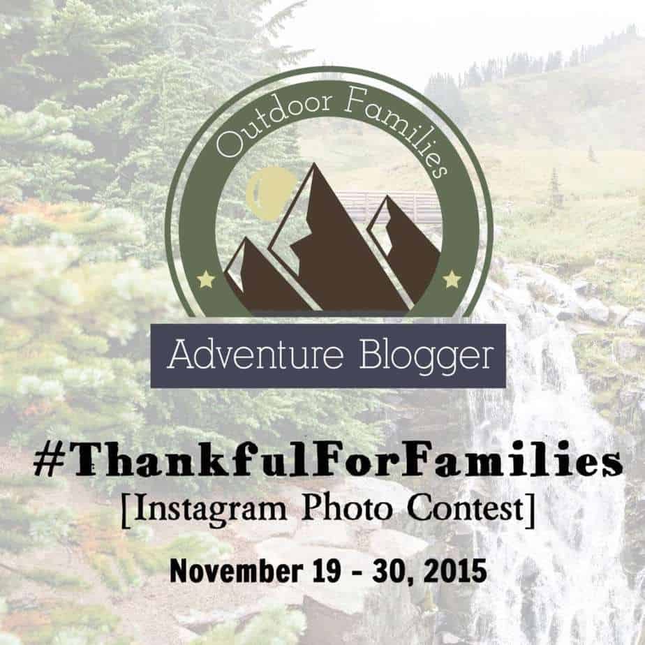 #Thankful for Families Instagram Photo Contest