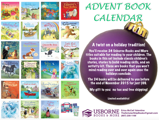 Get Ready to Cozy up Around the Campfire with Books (+ Advent Idea)