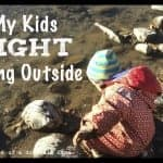 My Kids Fight Going Outside