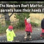 The Numbers Don't Matter….