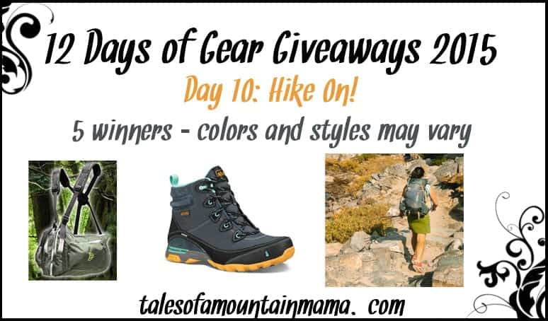 12 Days of Gear Giveaways - Day 10 (Hike On!)