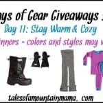 12 Days of Gear Giveaways – Day 11 (Stay Cozy & Warm!)