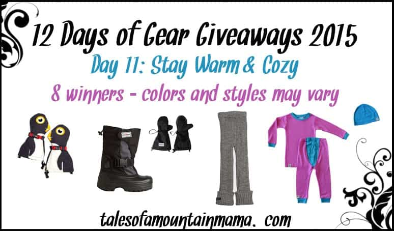 12 Days of Gear Giveaways - Day 11 (Stay Cozy & Warm!)