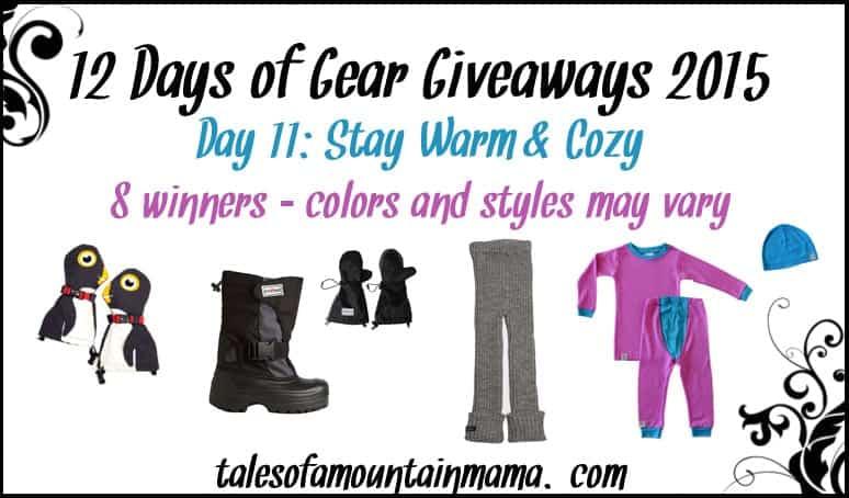 12 Days of Gear Giveaways - Day 11 (Stay Cozy & Warm!)
