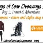 12 Days of Gear Giveaways – Day 5 (Travel & Adventure)