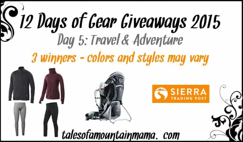 12 Days of Gear Giveaways - Day 5 (Travel & Adventure)