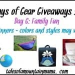 12 Days of Gear Giveaways – Day 6 (Family Fun)