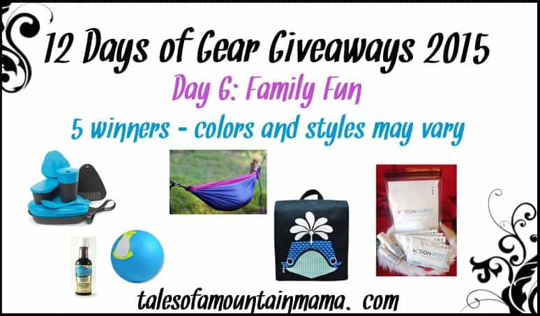 12 Days of Gear Giveaways - Day 6 (Family Fun)