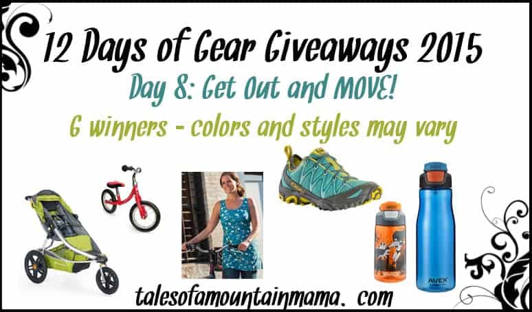 12 Days of Gear Giveaways - Day 8 (Get Out and MOVE!)