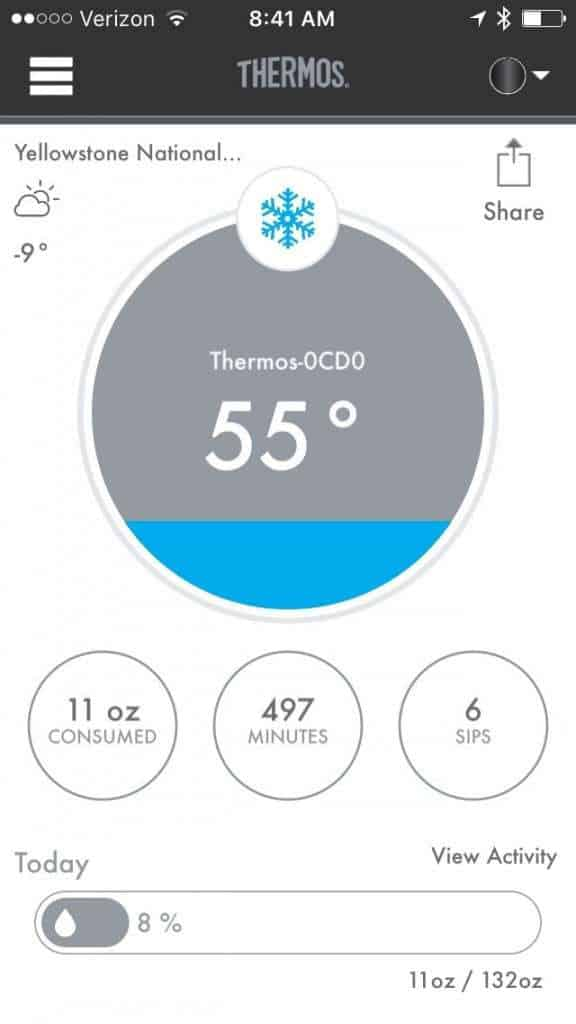 Stay Hydrated with Thermos! (Yep, there's an App for that!)