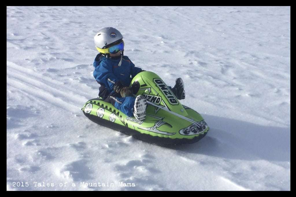 Sledding for the Whole Family + Sportsstuff Giveaway - Tales
