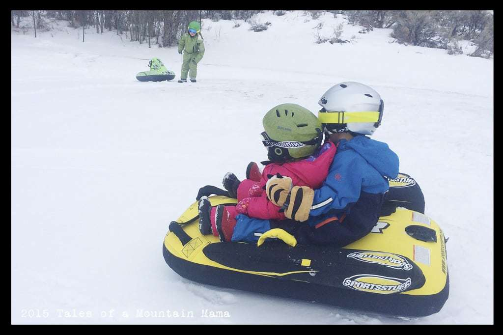 Sledding for the Whole Family + Sportsstuff Giveaway