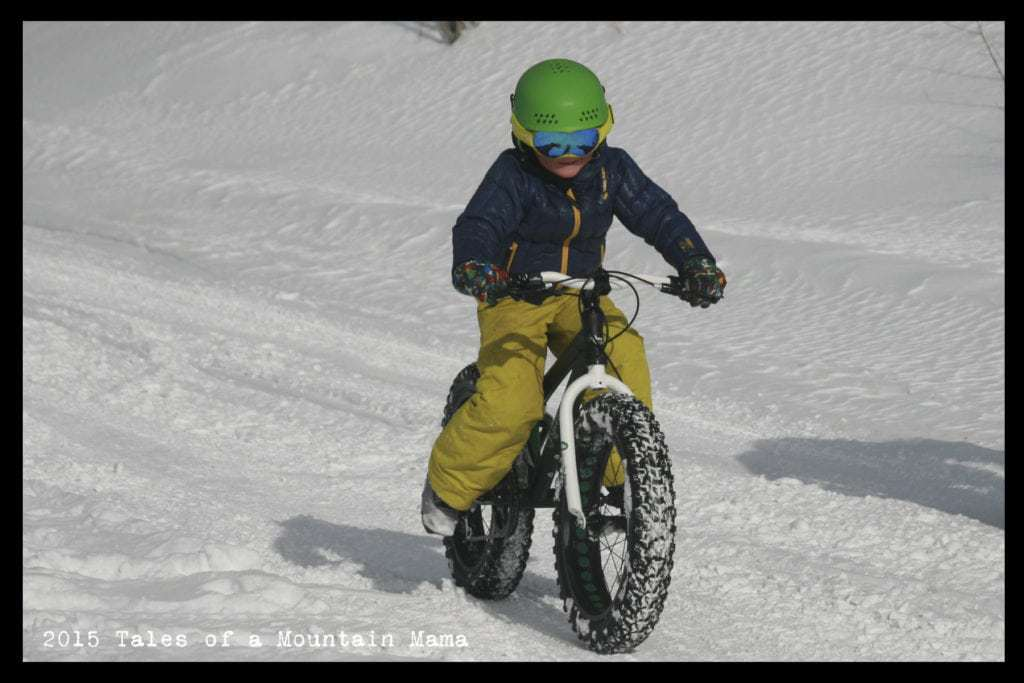 Fat Biking for Kids + TykesBykes Review and *Giveaway*