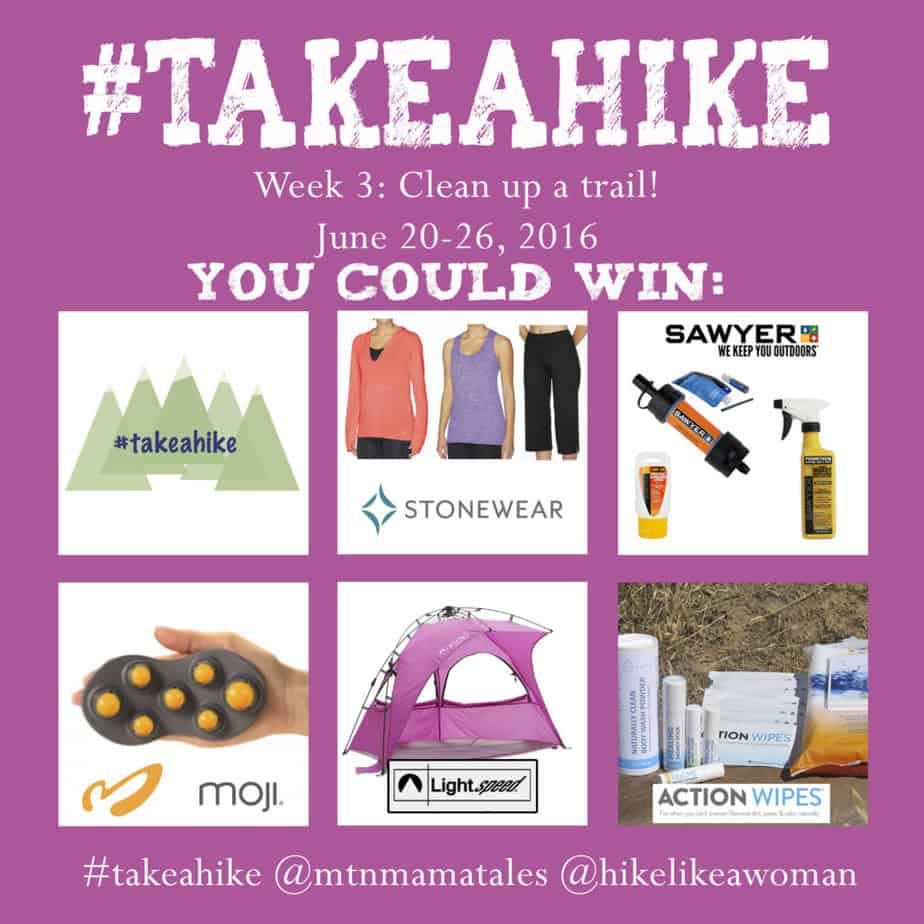 We hope you #takeahike with us this week! *Week 3*