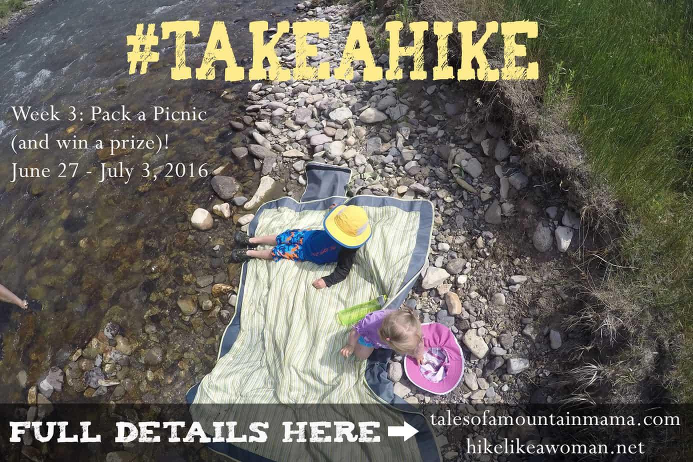 Take a Hike and Pack a Picnic (#takeahike Week 4!)