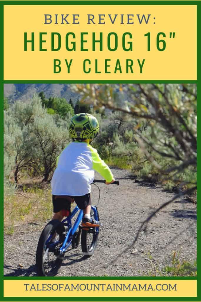 Cleary hedgehog 16 bike review