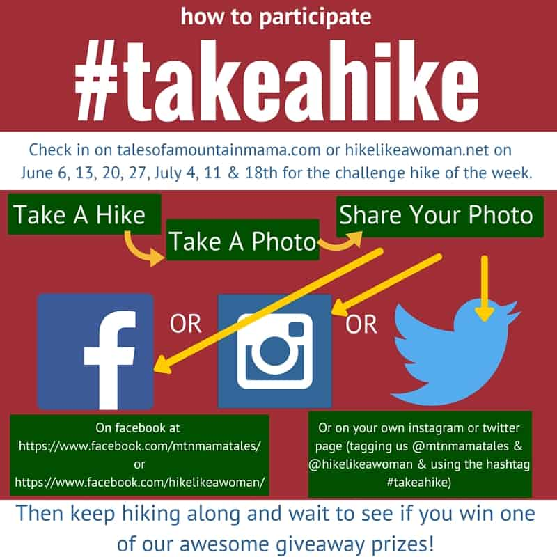 It's Week #6 of #takeahike !