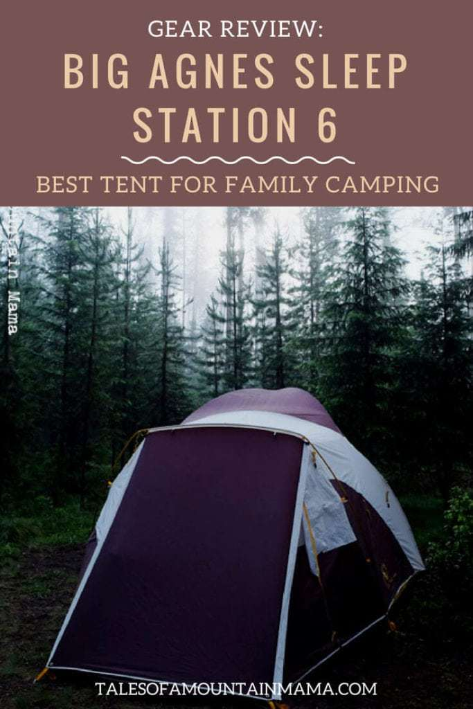 Big Agnes Sleep Station 6: Best Tent For Big Family