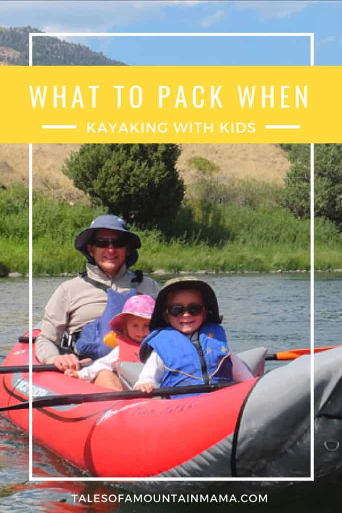 kayaking with kids pack list-2