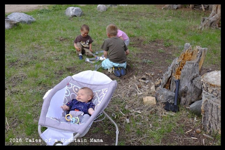 Taking Babies and Kids Camping (Yes, You Can!)