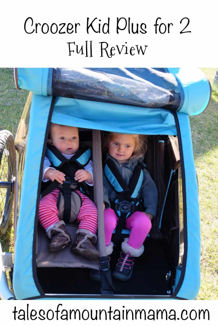 Croozer Kid Plus for 2 - 2016 Model Review