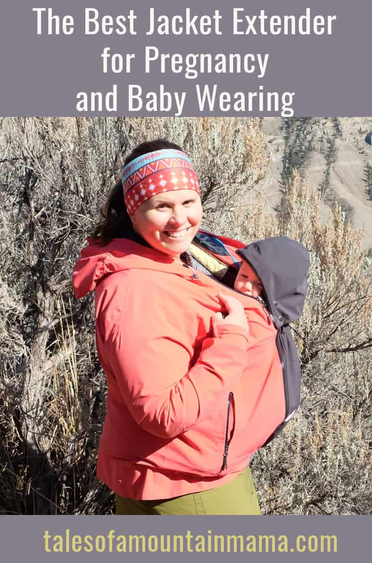 The Best Pregnancy and Baby Wearing Jacket Extension