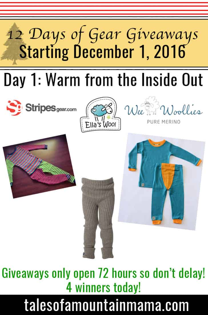 12 Days of Gear Giveaways Day 1: Warm from the Inside Out!