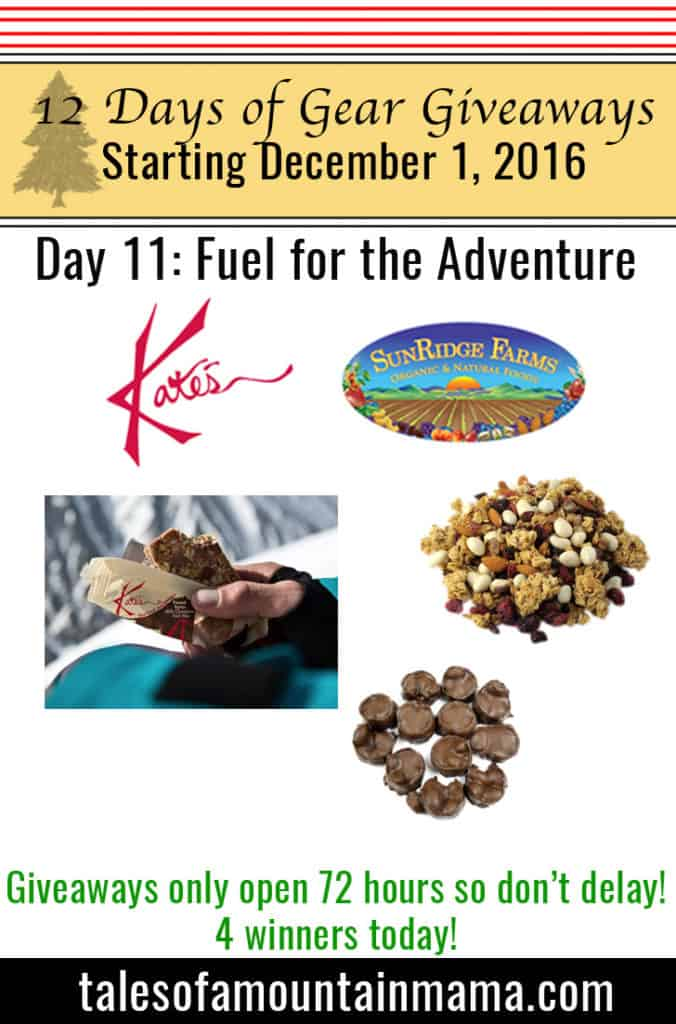 12 Days of Gear Giveaways Day 11: Fuel for the Adventure