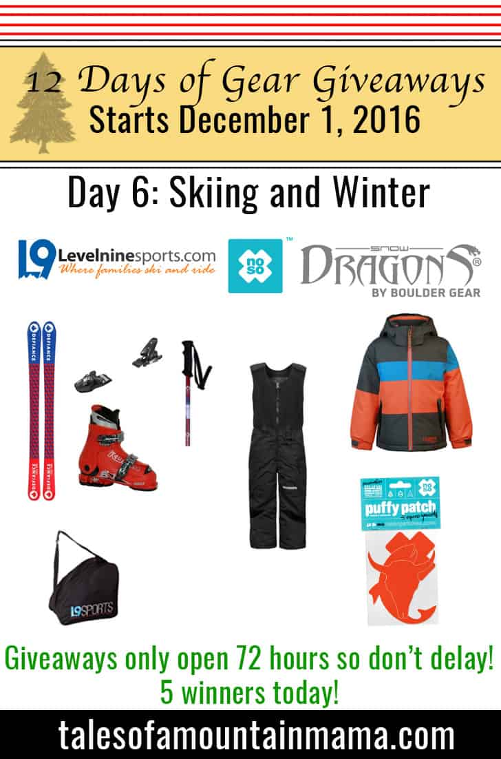 12 Days of Gear Giveaways Day 6: Skiing and Winter
