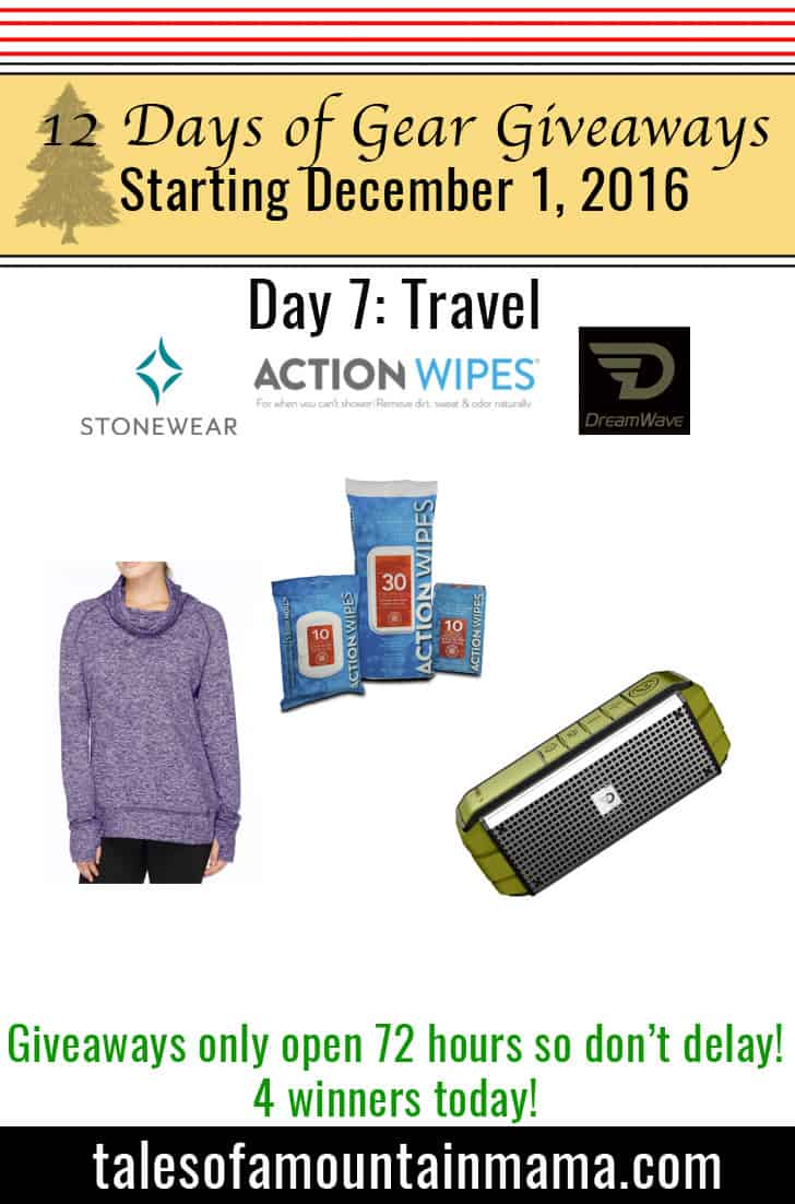12 Days of Gear Giveaways Day 7: Travel