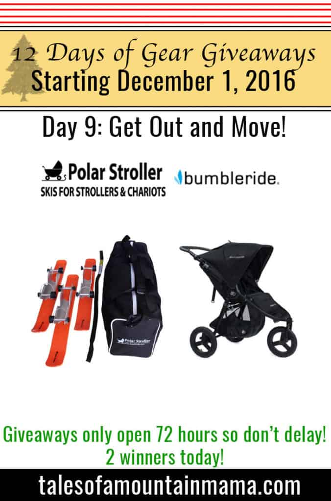 12 Days of Gear Giveaways Day 9: Get Out and Move!